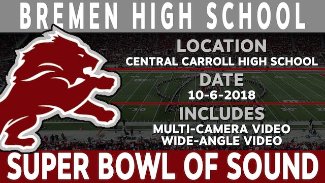Bremen High School - Super Bowl High School