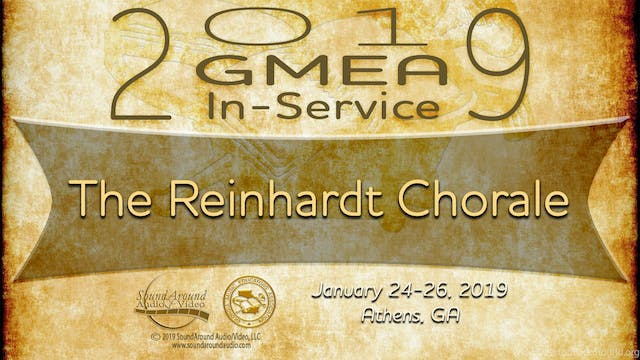 The Reinhardt Chorale