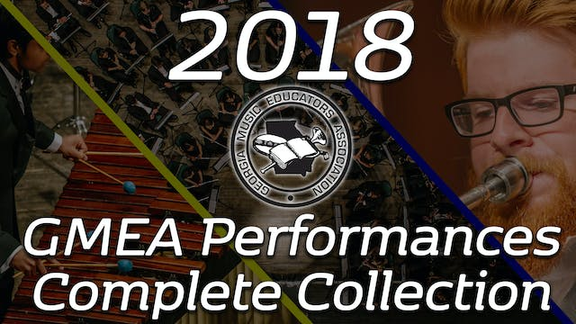 2018 GMEA Performances Complete Collection