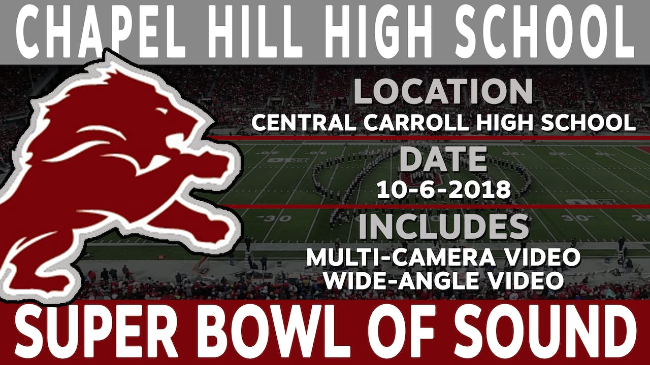 Chapell Hill High School - Super Bowl Of Sound
