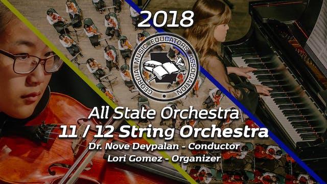 11/12 String Orchestra: Dr. Nove Deypalan