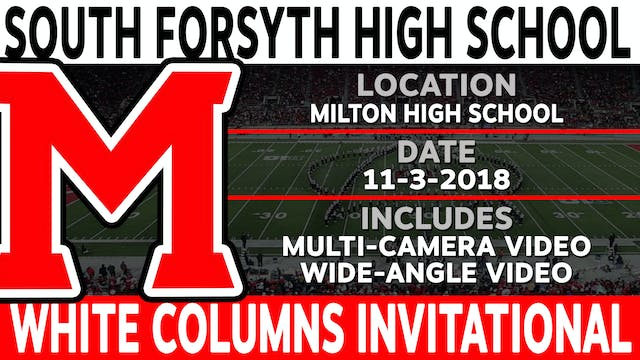 South Forsyth High School - White Columns Invitational