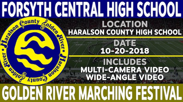 Forsyth Central High School - Golden River Marching Festival