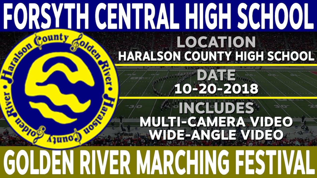 Forsyth Central High School - Golden River Marching Festival