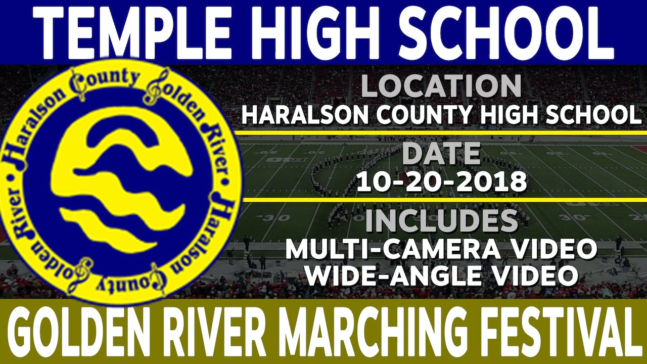 Temple High School - Golden River Marching Festival