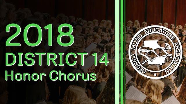 2018 District 14 Honor Chorus