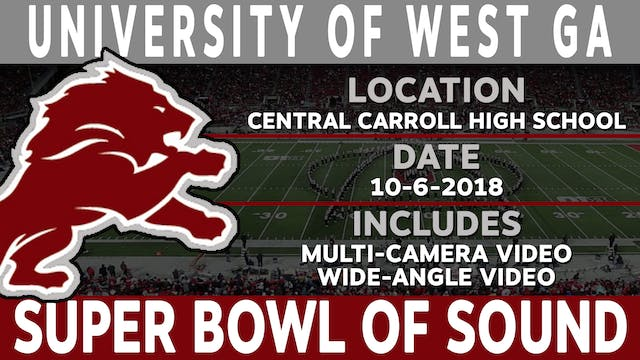 University Of West GA - Super Bowl Of Sound