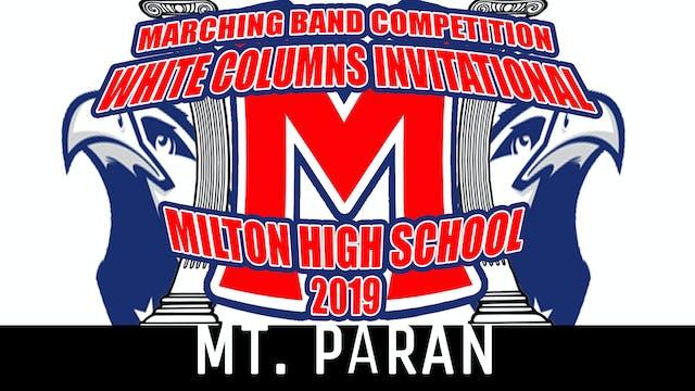 MT. PARAN HS - 2019 WCI