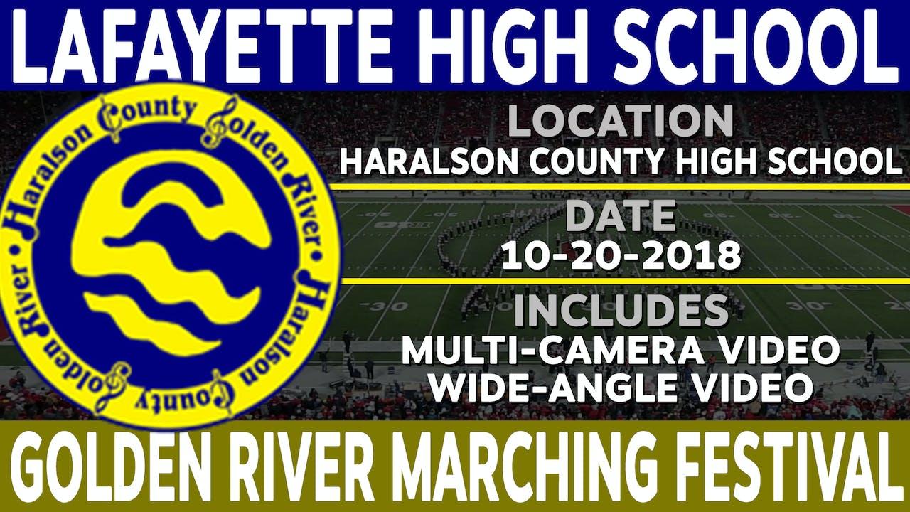 LaFayette High School - Golden River Marching Festival