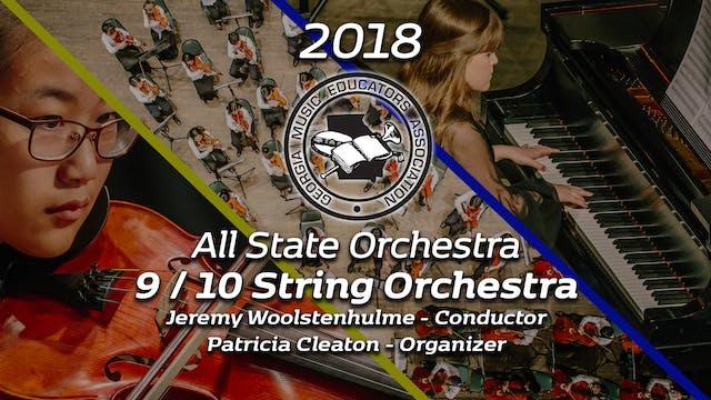 9/10 String Orchestra: Jeremy Woolstenhulme