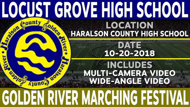 Locust Grove High School - Golden River Marching Festival