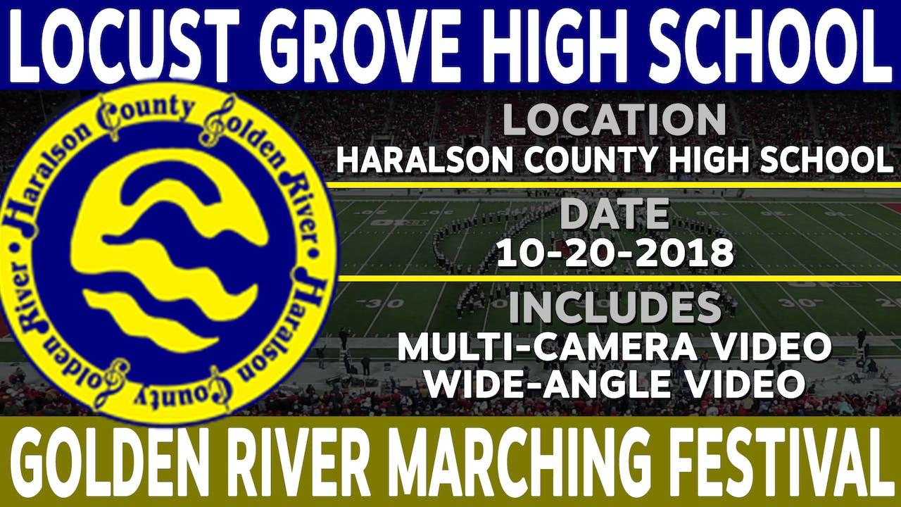 Locust Grove High School - Golden River Marching Festival