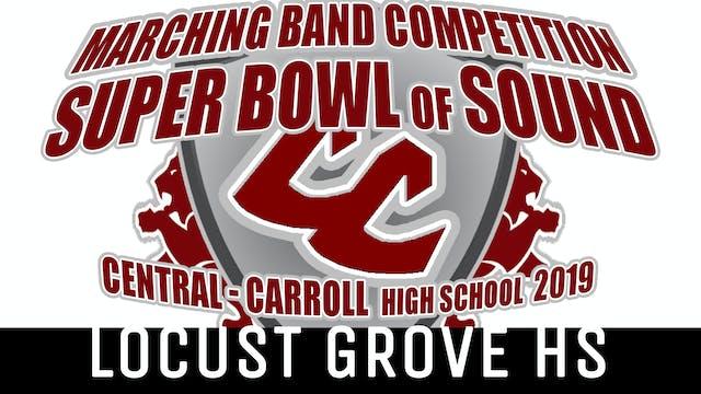 Locust Grove HS - 2019 Super Bowl of Sound