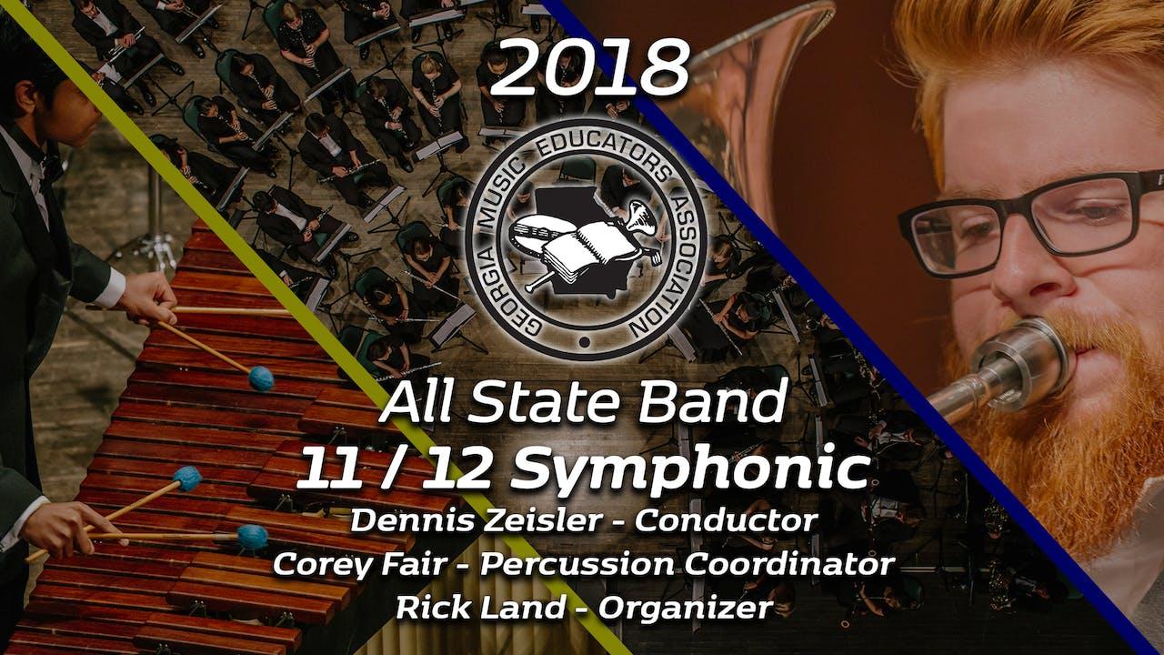 11/12 Symphonic Band: Dennis Zeisler