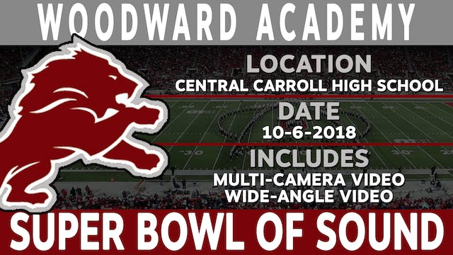 Woodward Academy - Super Bowl Of Sound