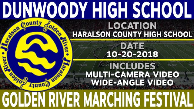 Dunwoody High School - Golden River Marching Festival