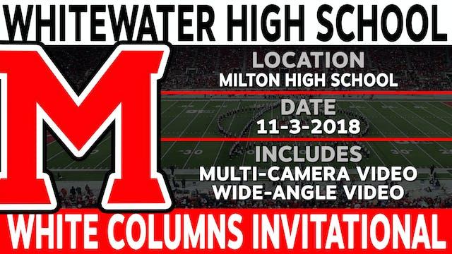 Whitewater High School - White Columns Invitational
