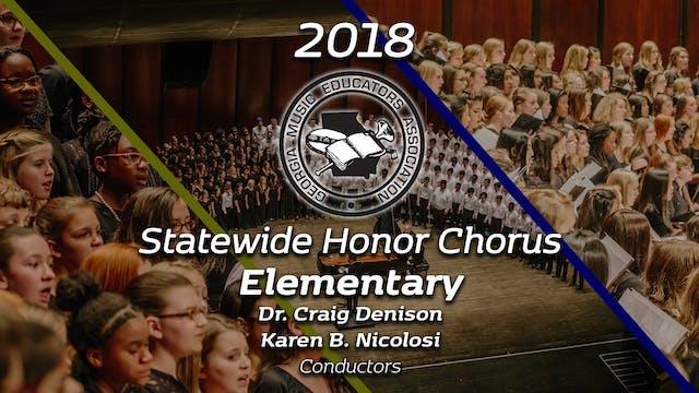 Statewide Elementary Honor Chorus