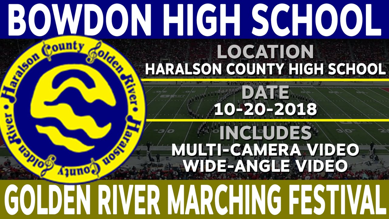 Bowdon High School - Golden River Marching Festival