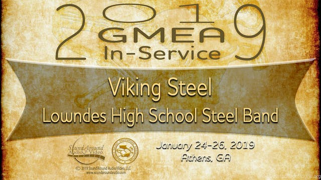 Viking Steel - Lowndes High School Steel Band