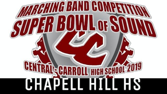 Chapel Hill HS - 2019 Super Bowl of Sound