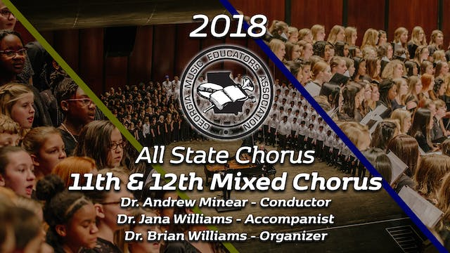 Senior Mixed Chorus: Dr. Andrew Minear