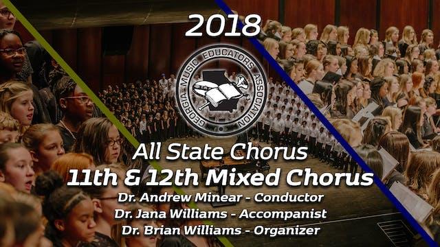Senior Mixed Chorus: Dr. Andrew Minear