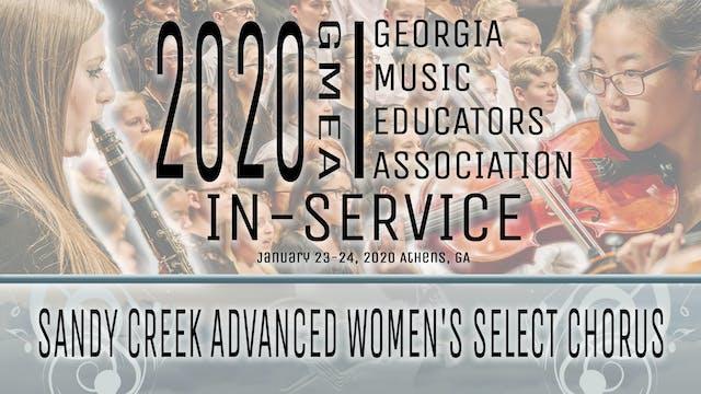 Sandy Creek Advanced Women's Select Chorus