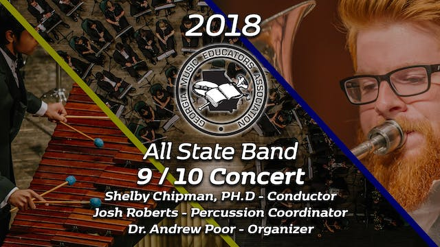 9/10 Concert Band: Shelby Chipman, PH.D