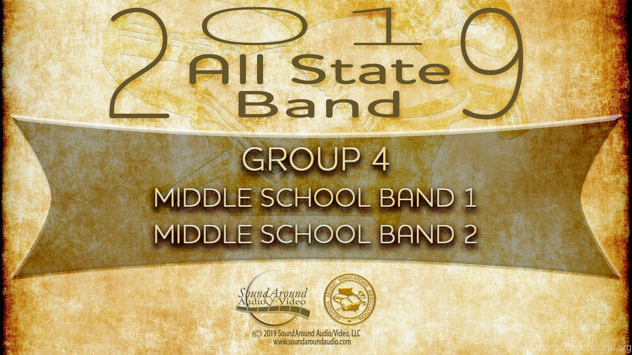 2019 All State Band: Middle School