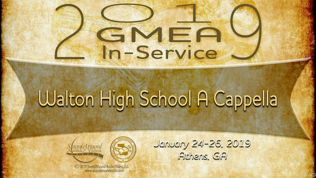 Walton High School A Cappella