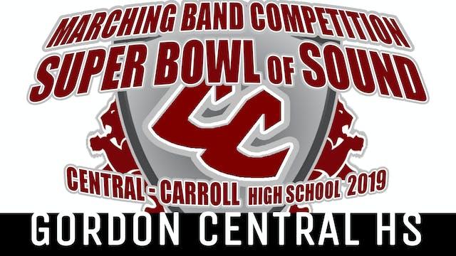 Gordon Central HS - 2019 Super Bowl of Sound