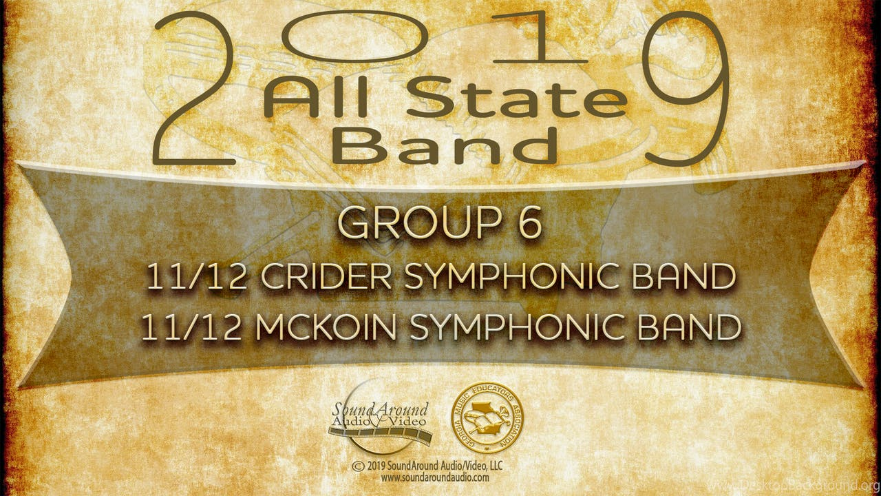 2019 All State Band: Both 11/12 Bands