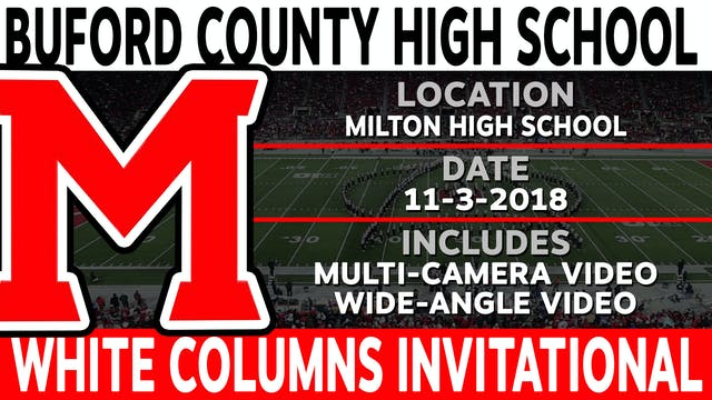 Buford County High School - White Columns Invitational