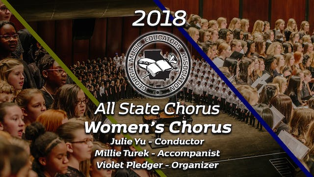 Senior Women's Chorus: Julie Yu