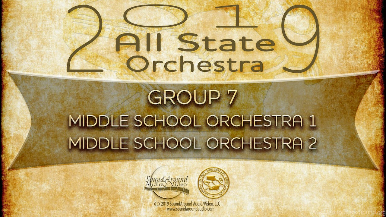 2019 All State Orchestra: Middle School