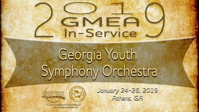 Georgia Youth Symphony Orchestra