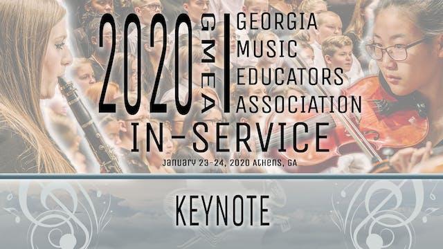 2020 GMEA In-Service Keynote