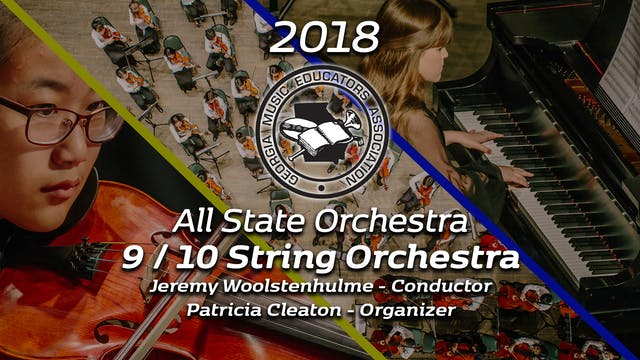 9/10 String Orchestra: Jeremy Woolste...
