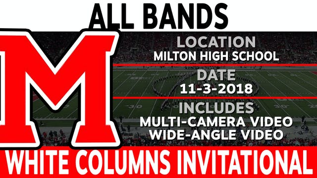 All Bands - White Columns Invitational