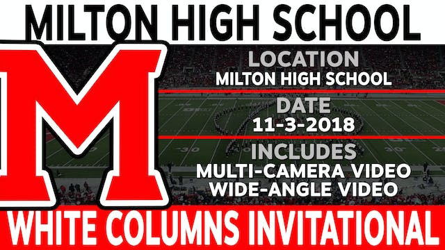 Milton High School - White Columns Invitational