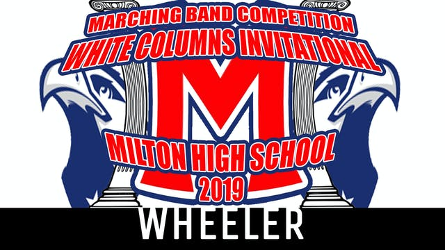 WHEELER HS - 2019 WCI