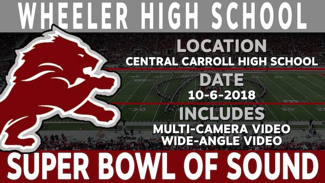 Wheeler High School - Super Bowl Of Sound