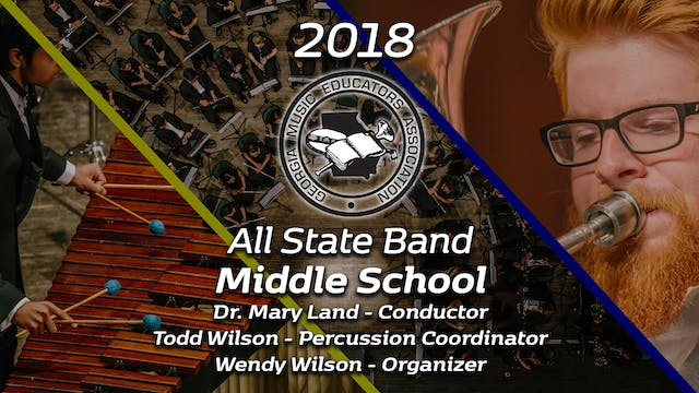 Middle School Band: Dr. Mary Land