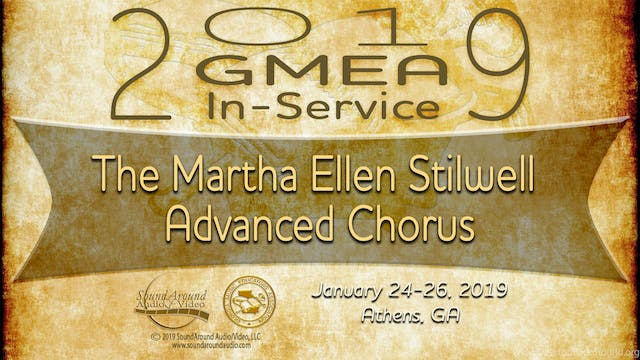 The Martha Ellen Stilwell Advanced Chorus
