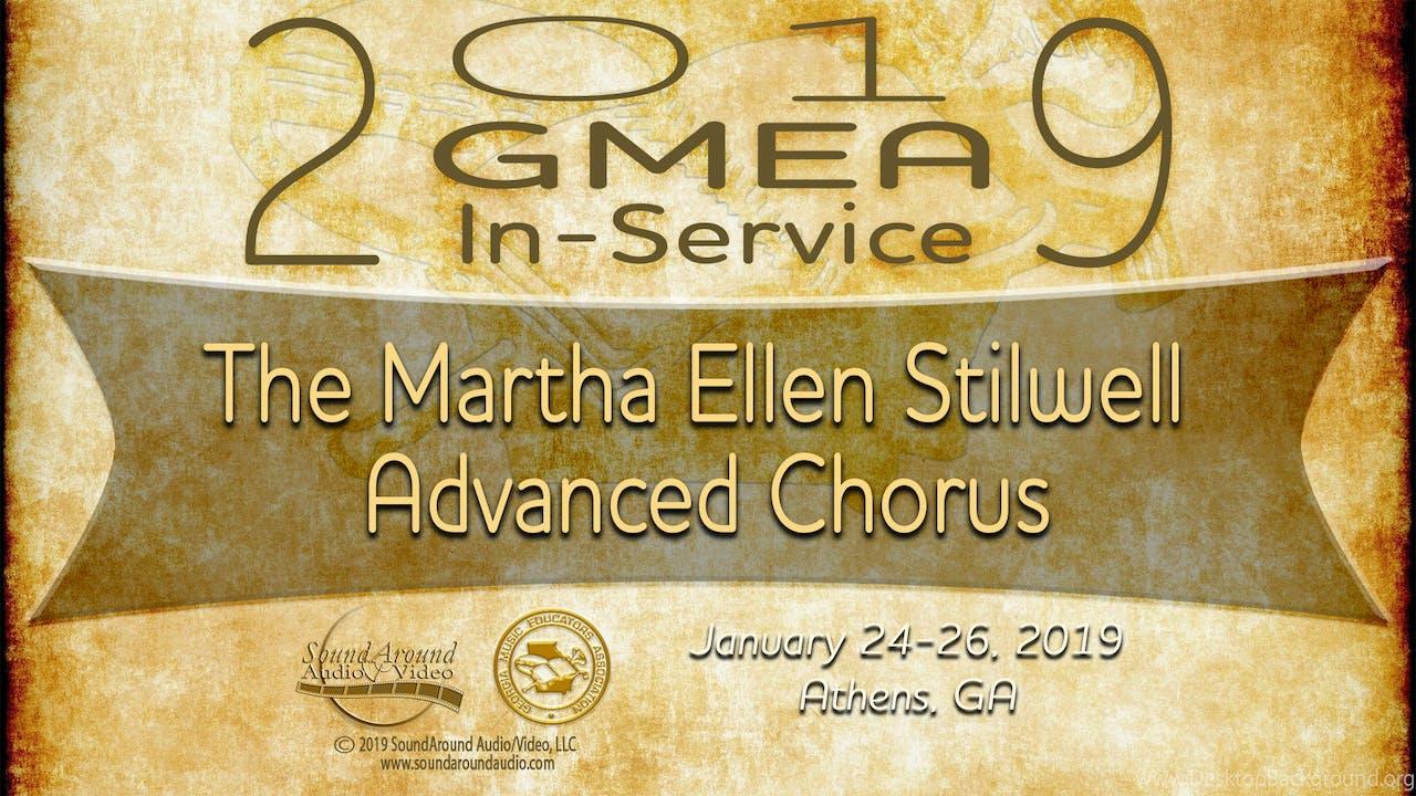 The Martha Ellen Stilwell Advanced Chorus
