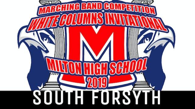 SOUTH FORSYTH HS - 2019 WCI