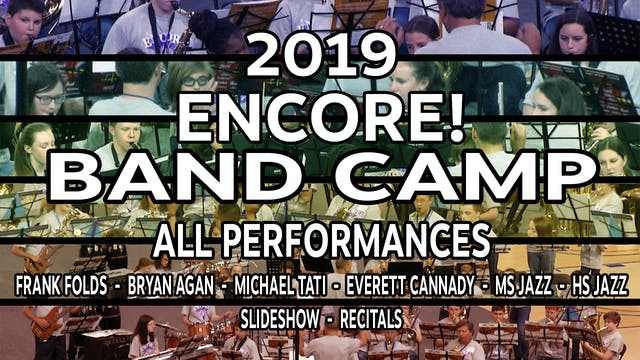 2019 Encore! Band Camp