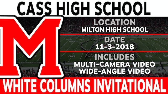 Cass High School - White Columns Invitational