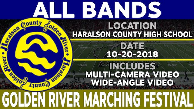 All Bands - Golden River Marching Festival